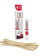 X On The Lips Refill Sizzling Strawberry 12 Each Per Box
