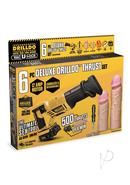 Drilldo Deluxe Thrust 6 Piece Set
