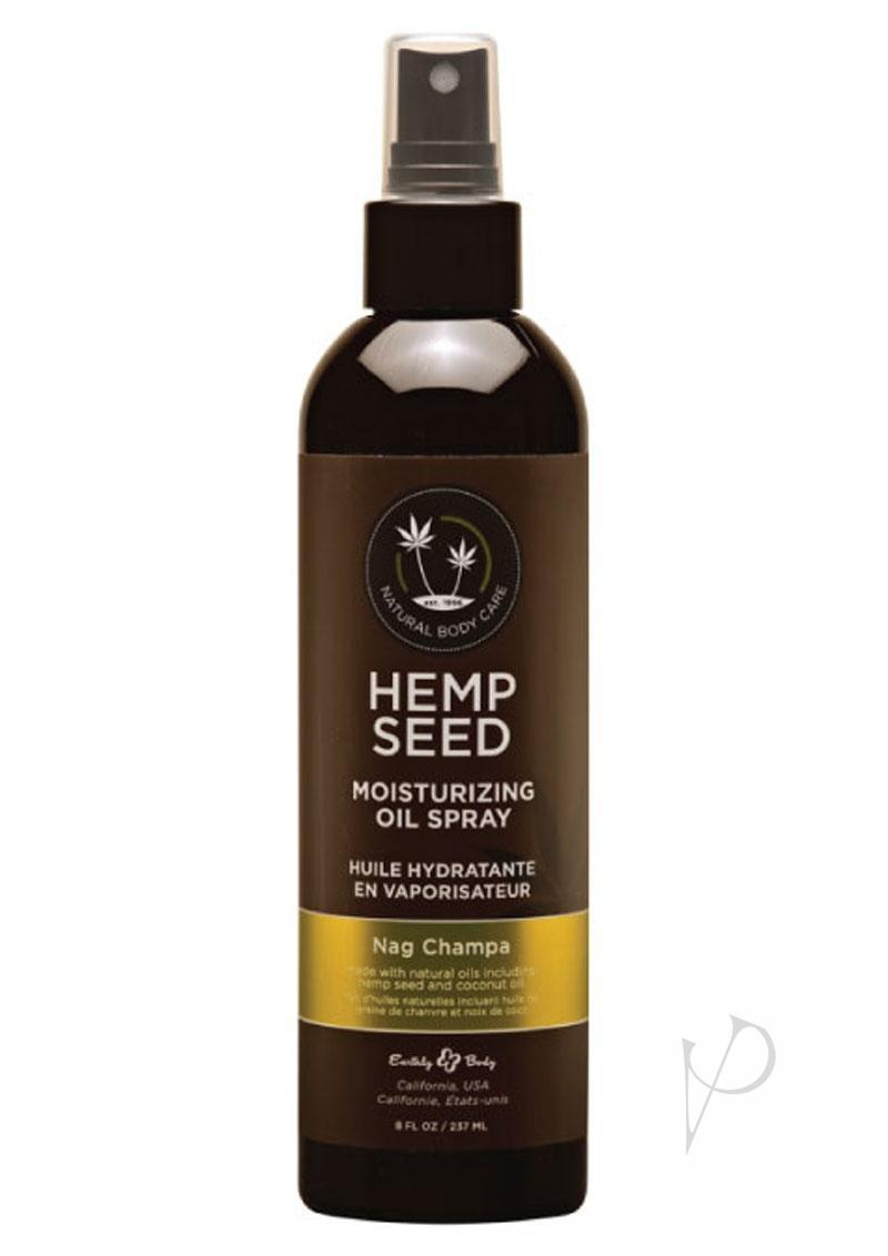 Hemp Seed Massage And Body Oil Nag Champa 8 Ounces